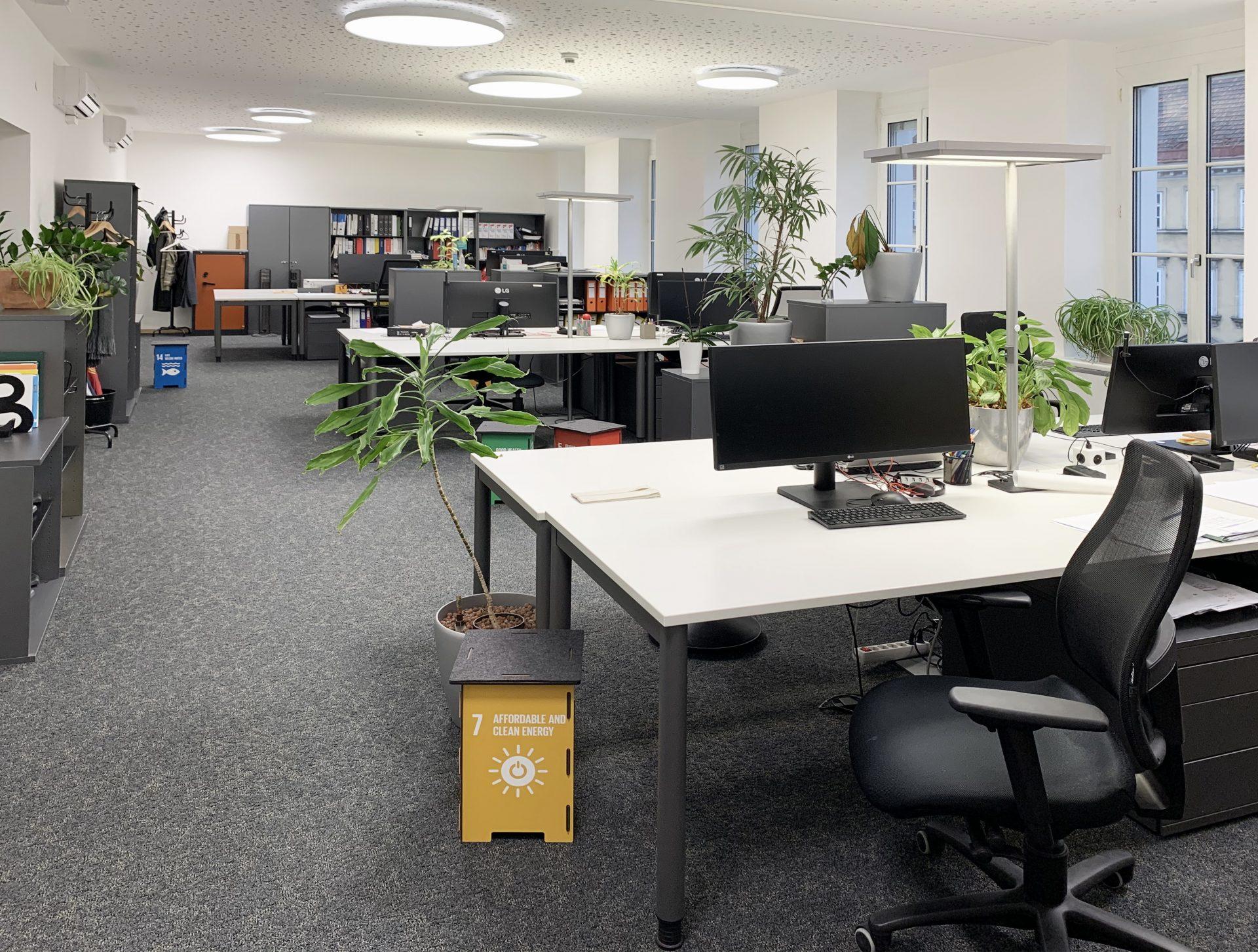 ÖGNI Zertifizierung von Innenräumen ATP sustain Büro